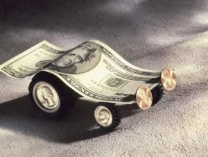 El dinero es un vehículo