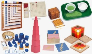 Materiales Matemáticas Montessori