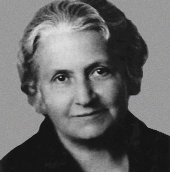 Dña. Maria Montessori