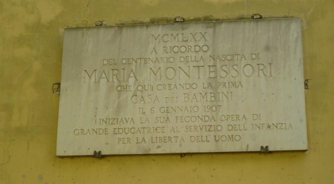 Visita a la Casa dei Bambini de Roma y la Explosión de la Escritura